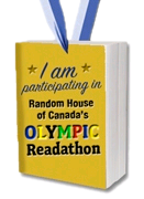 I am participating in Random House of Canada's Olympic Readathon