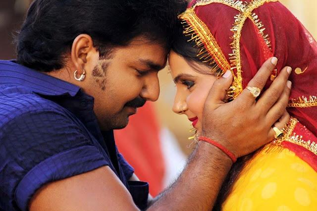 Pawan Singh, Kavya Lagi Nahi Chhute Rama Bhojpuri Movie wallpaper