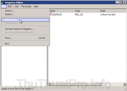 Reset password Windows 8 bằng regedit