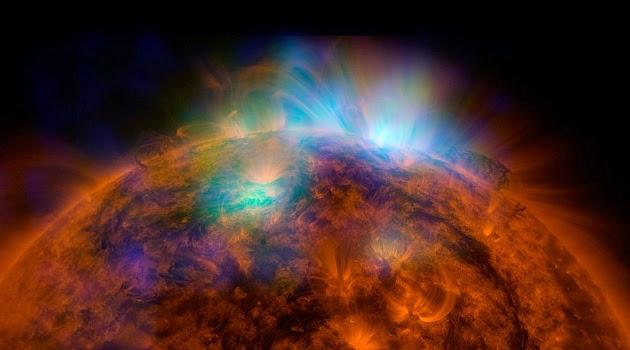 Video Permukaan Matahari 'Retak' Diperlihatkan Oleh NASA