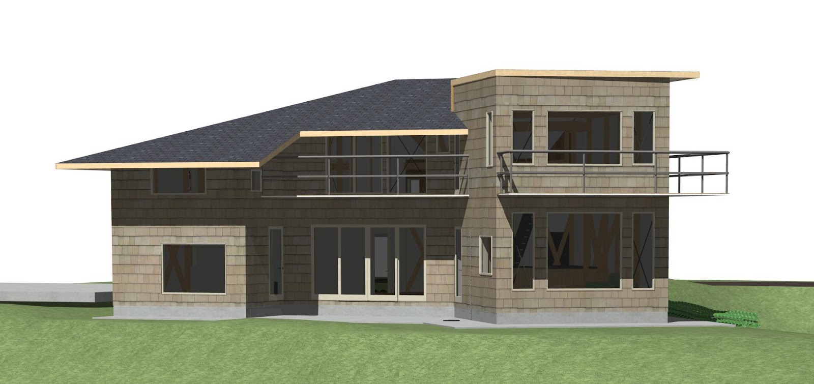 Designing and building a carbon neutral eco house in japan for Carbon neutral home designs