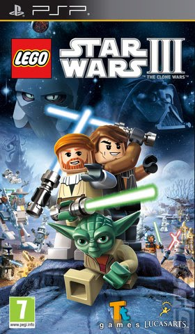 Star Wars 3 The Clone Wars Game. Lego Star Wars III The Clone