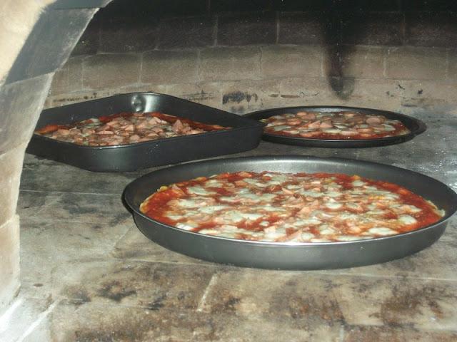 Como hacer un horno a le a paso a paso para pizzas - Como hacer horno de lena ...