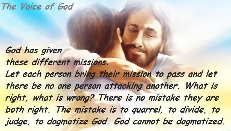 INTERPRETATION VOICE OF GOD INCORRUPTIBILITY