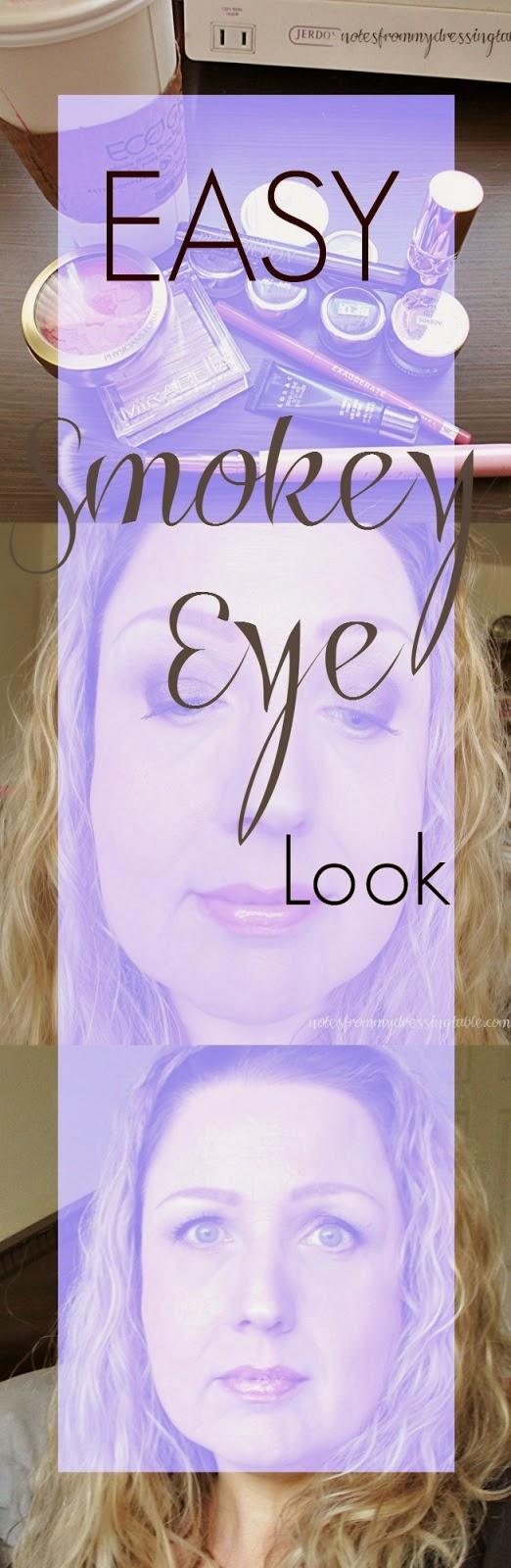 An Easy Smokey Eye Look notesfrommydressingtable.com