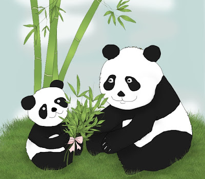 children-art-panda