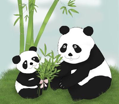 children-art-panda