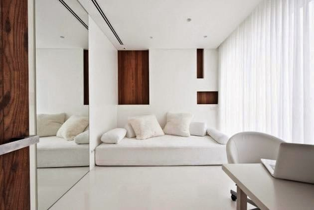 Ideas modernas para decorar en color blanco 7
