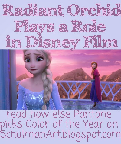 pantone color of the year | radiant orchid | 2014 color trends | Disney's Frozen