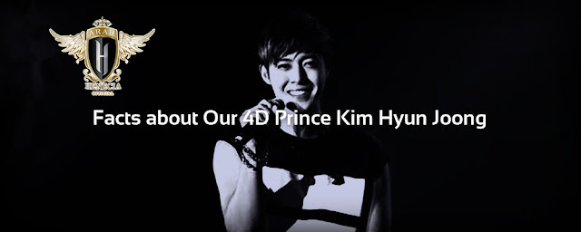 Facts about Kim Hyun Joong