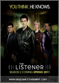 Capa Baixar Série The Listener 1ª,2ª,3ª e 4ª Temporada   Torrent Baixaki Download