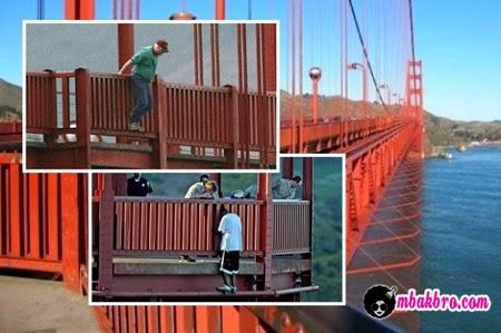 pelaku bunuh diri di jembatan Golden Gate