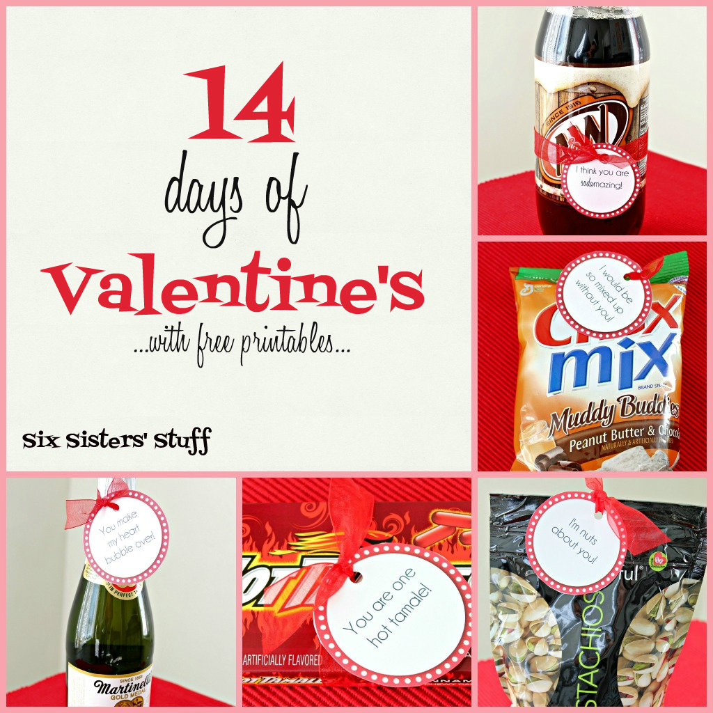 14 days of valentine 39 s with free printables six sisters for Valentines day cute ideas