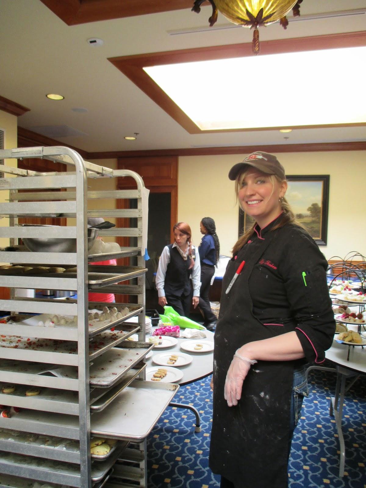 Friendship Tea April - Dining room manager