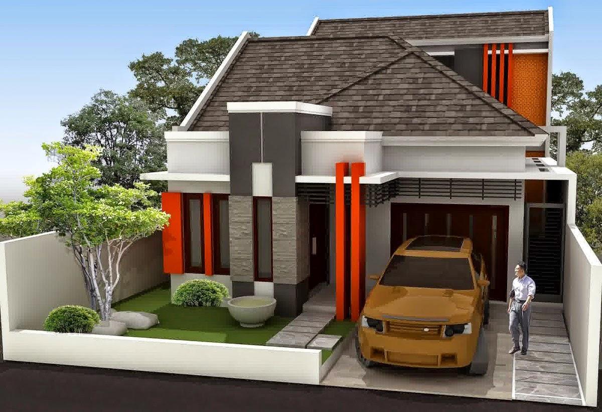 minimalist house type 54 design nyoke house design