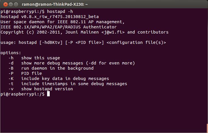 Raspberry pi hostapd download