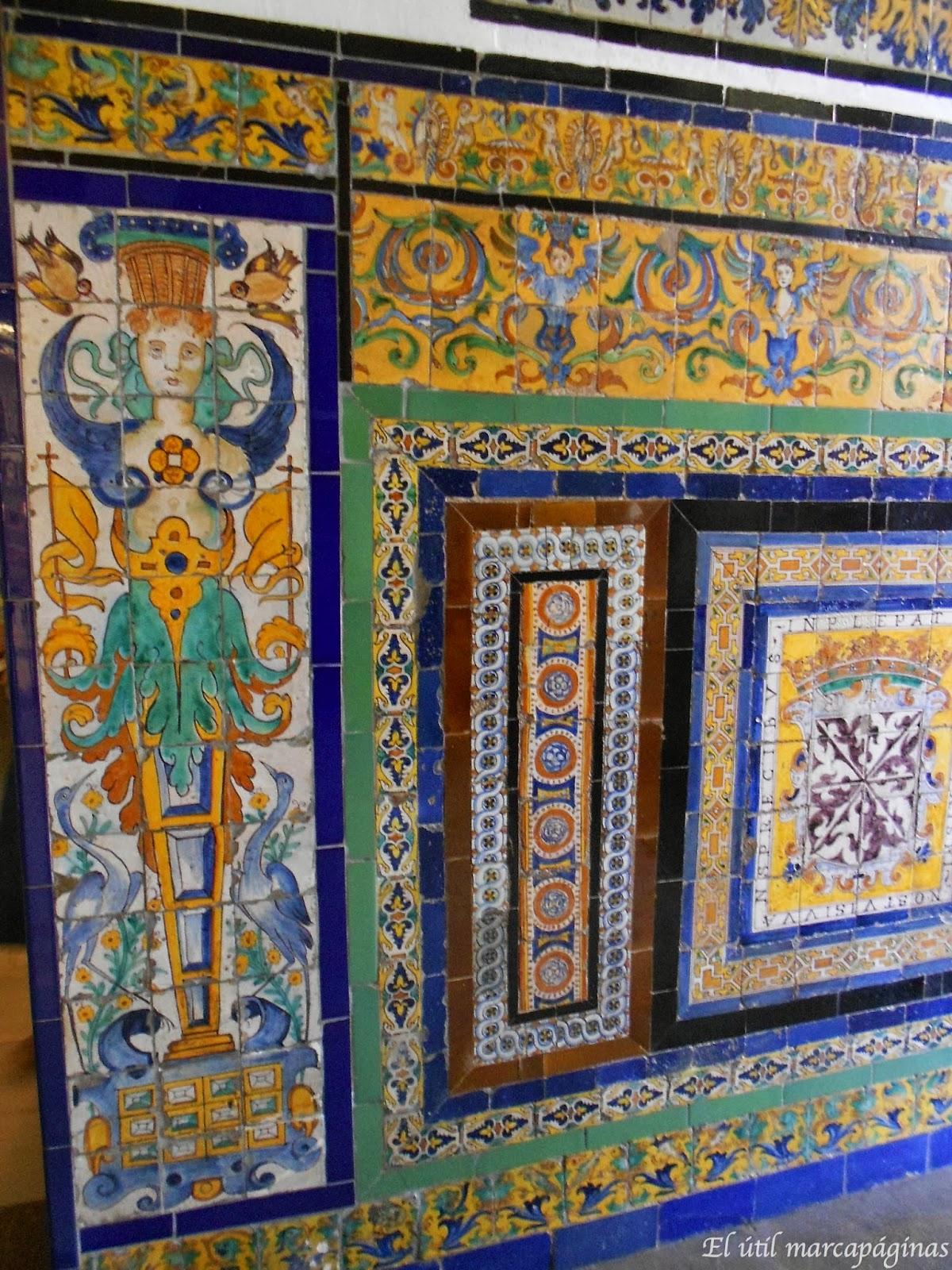 El til marcap ginas azulejos en el museo de bellas artes for El rey de los azulejos