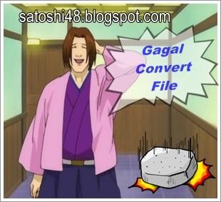 gagal convert file menggunakan format factory