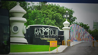 Ramoji Film City, Spread across an area of almost 2000 acres located in Anaspur Village