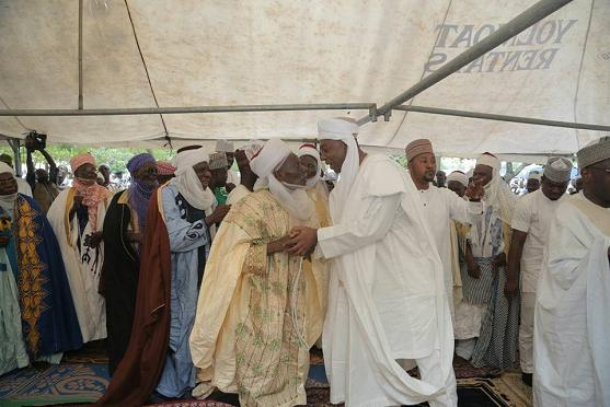 Saraki releases pictures to dispute claims that he was attacked in Pray ground.