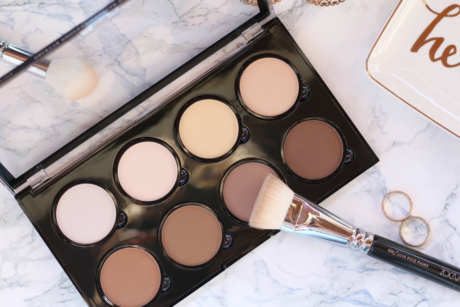 nyx highlight contour pro palette review swatches nelly ray. Black Bedroom Furniture Sets. Home Design Ideas