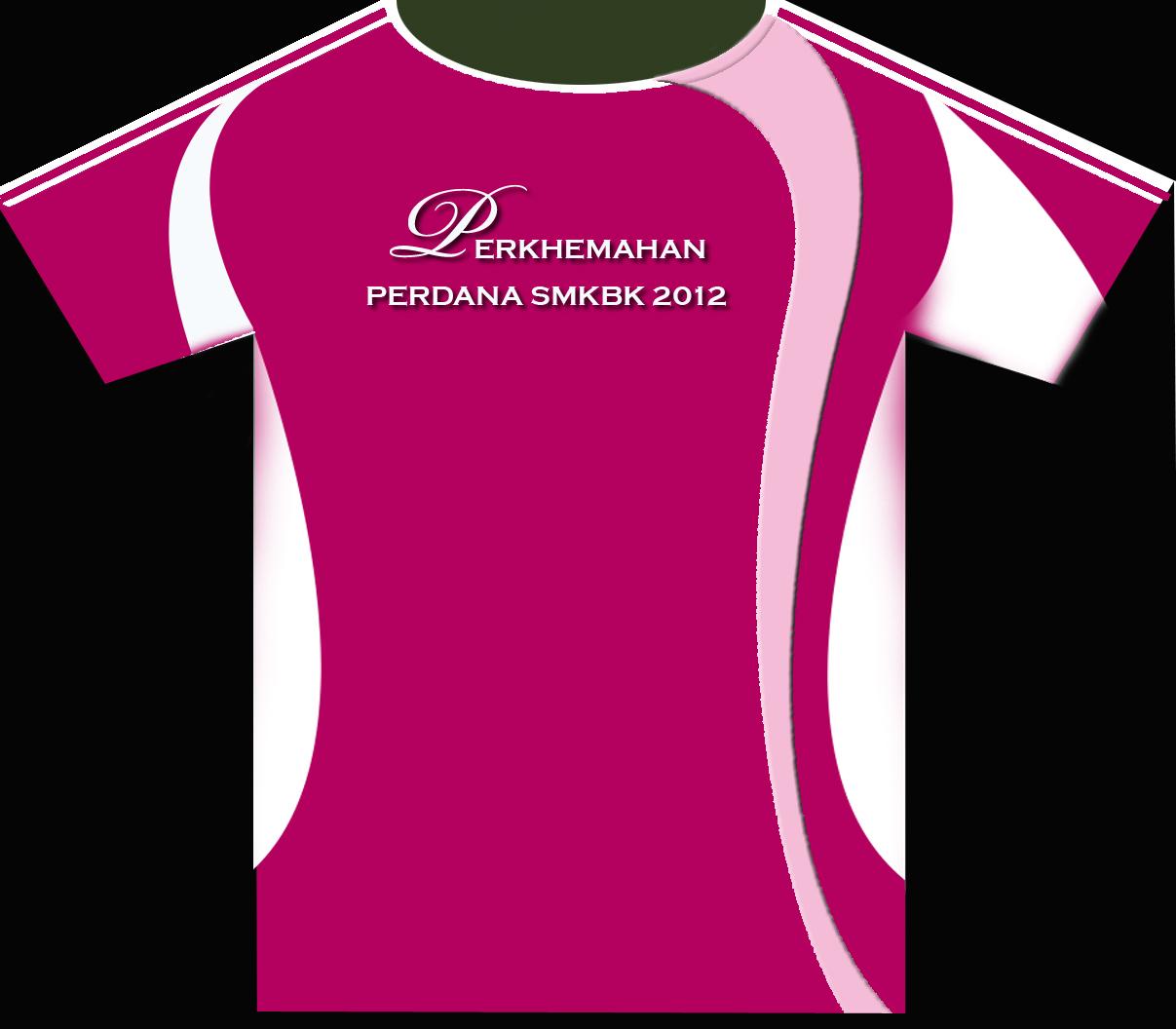Design t shirt rumah sukan - Perkhemahan Perdana Smkbk