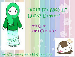 """Vote for Nisa II"" Lucky Draw~!!"