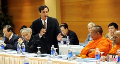 UB TƯ Mặt trận Tổ quốc Việt Nam đã tổ chức nhiều hội nghị lấy ý kiến góp ý về dự thảo sửa đổi Hiến pháp 1992. Ảnh: Minh Thăng
