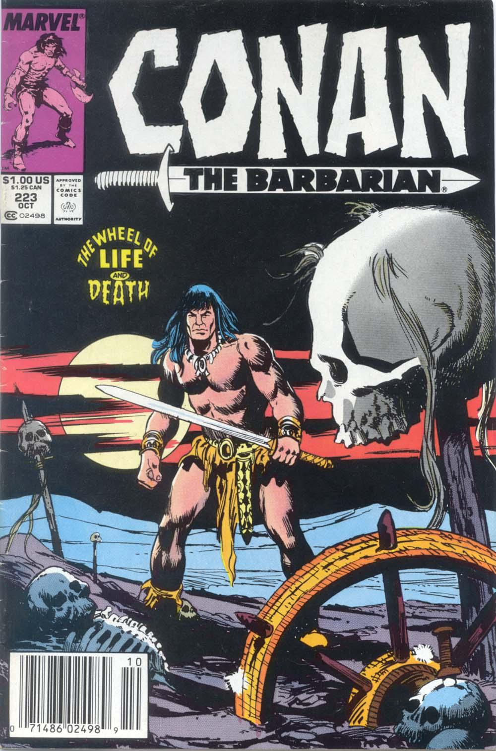 Conan the Barbarian (1970) Issue #223 #235 - English 1