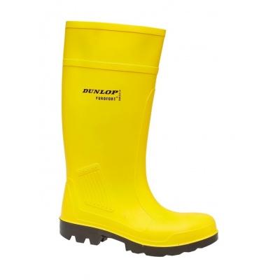 Dunlop Boots Yellow2