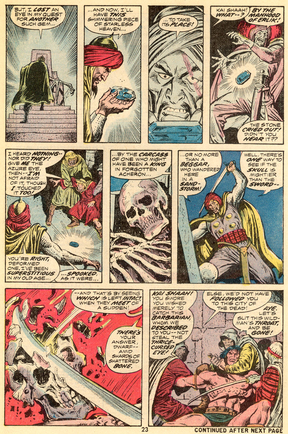 Conan the Barbarian (1970) Issue #35 #47 - English 14