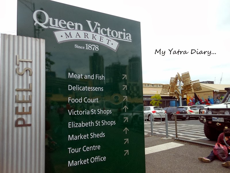 Entrance to Queen Victoria Market, Melbourne