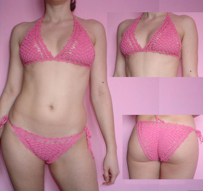 Crochet Bikini Pattern : Cossalina - Crochet Bikini and Swimwear, Handmade Crochet Dresses ...