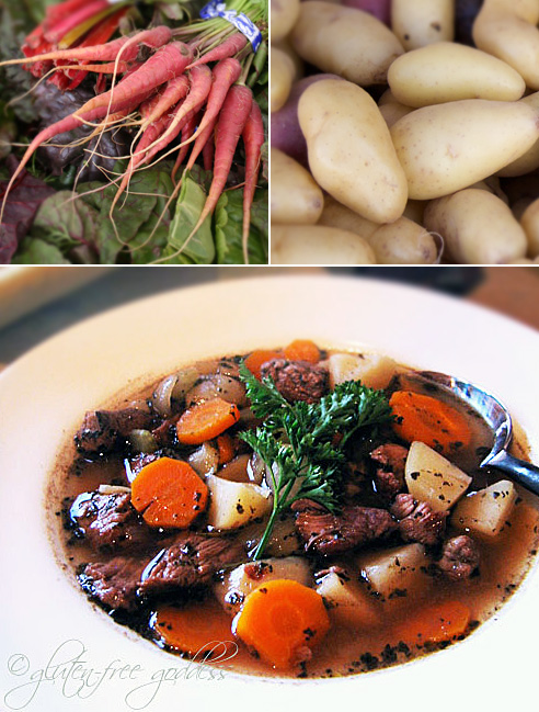 Gluten-Free Irish Beef Stew from Gluten-Free Goddess Karina