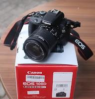 harga Kamera Bekas Canon EOS 100D SC Rendah