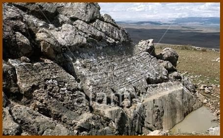 Nischan Tepe, Nisantepe, hitita, heteo, inscripciones hititas, Perror, Pangea
