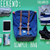 What to carry for a weekend get away