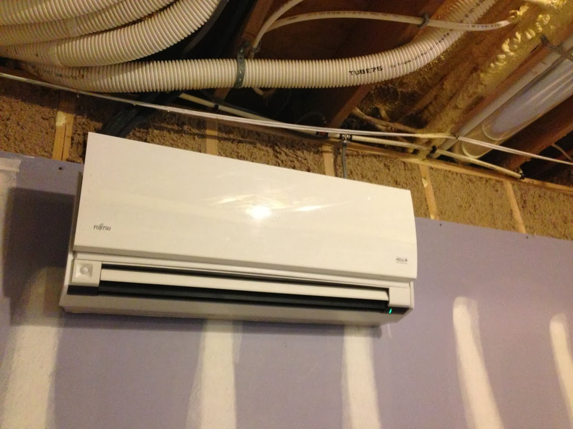 of Mini Split Placement for Whole House Heating and Air Conditioning #A97E22