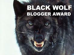 Premio Black Wolf Blogger Award