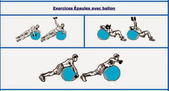 Top Shoppeos Maroc: Exercices avec ballon de gym ou swiss ball XO83