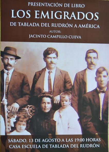 LOS EMIGRADOS. De Tablada del Rudrón a América