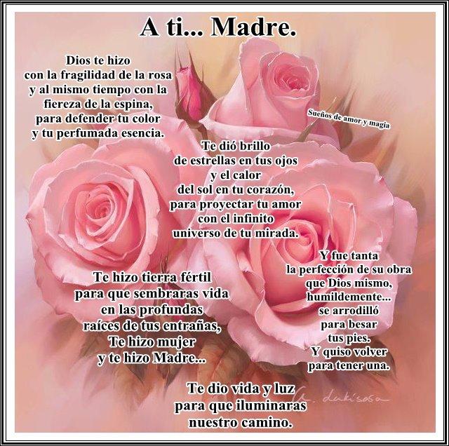 Pensamientos Para El DIA De Las Madres