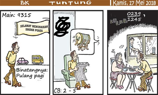 Prediksi Gambar Pak Tuntung Kamis 17 05 2018