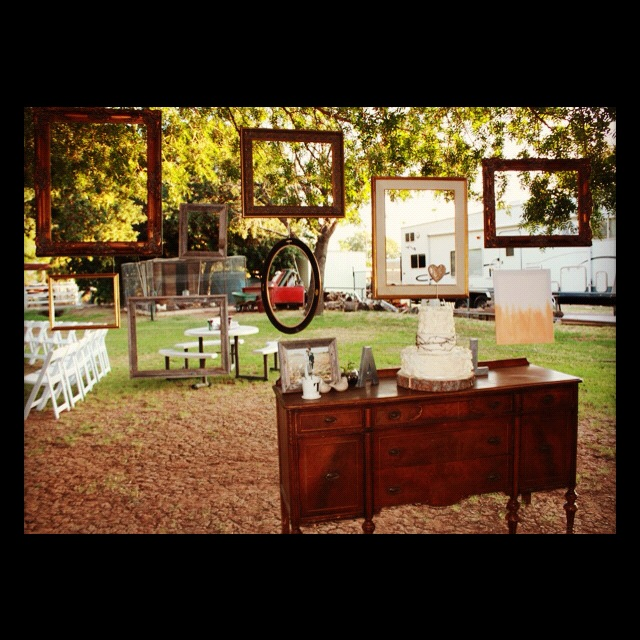 Rustic Wedding Shower Decorations