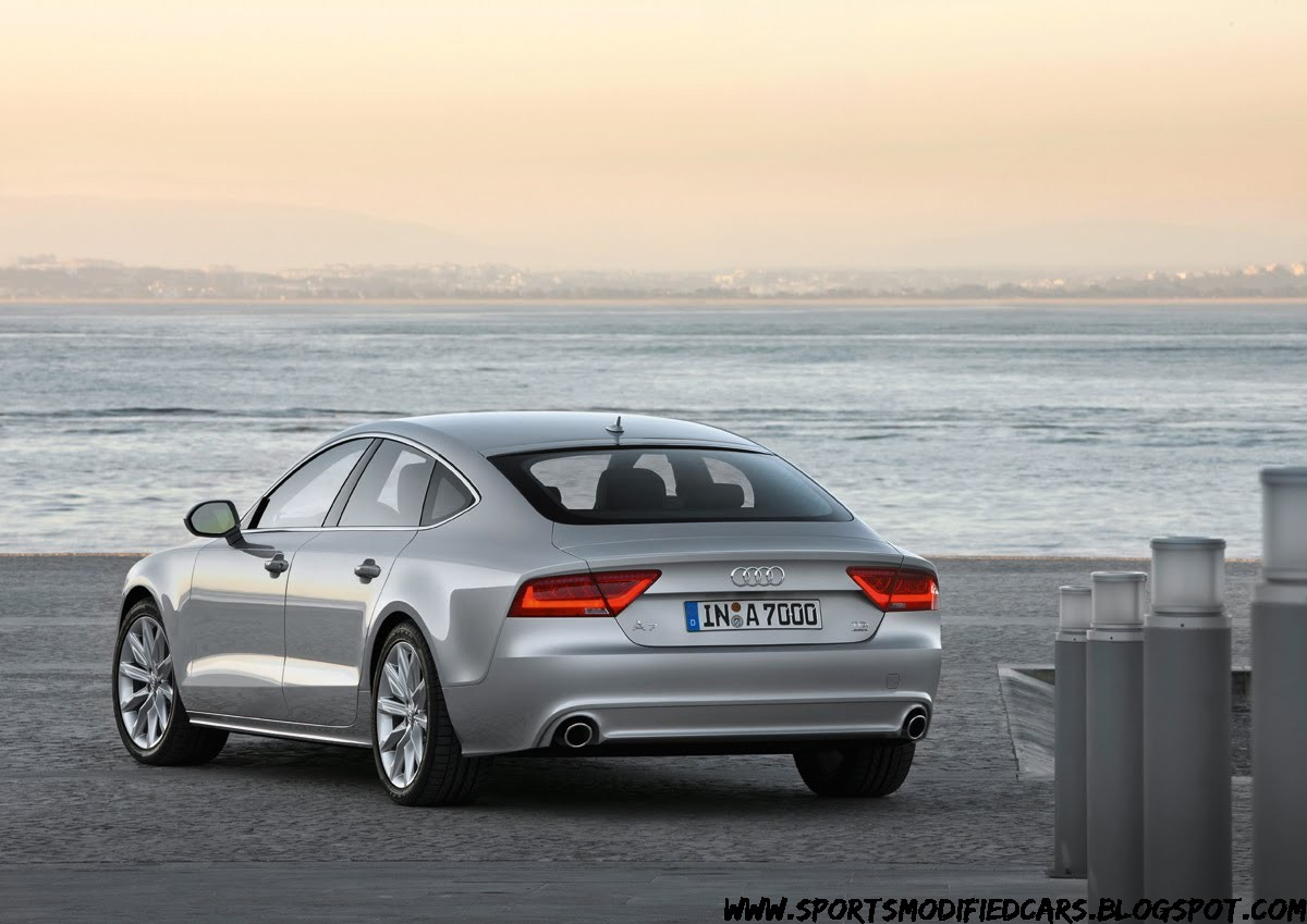 new audi a7 sportback photos released sports modified cars. Black Bedroom Furniture Sets. Home Design Ideas
