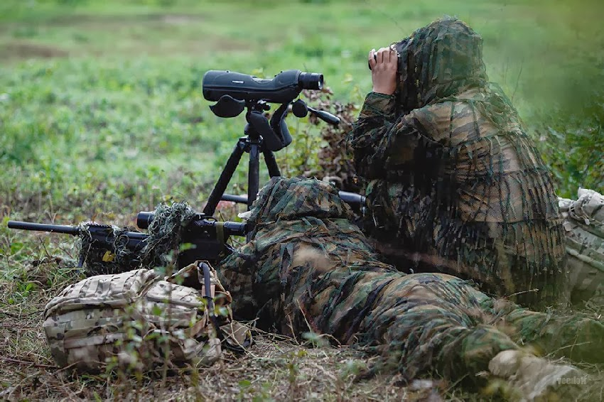 Chinese Sniper Team at International Sniper Competition ...