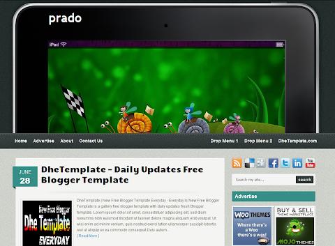 Prado Blogger Theme