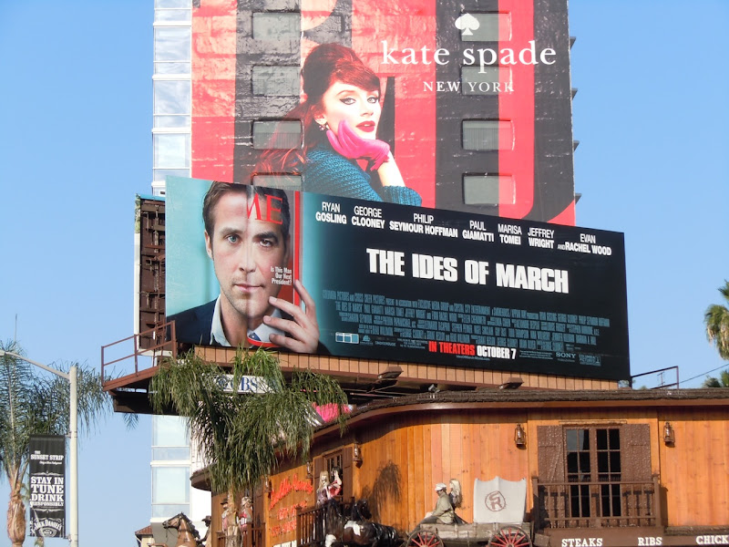 Ides of March movie billboard