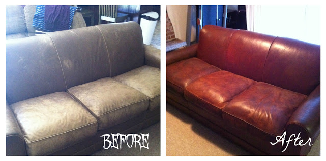 Erin Who Blogs At Declure Ended Up With This Result After Lying Some Tlc To A Free Leather Chair