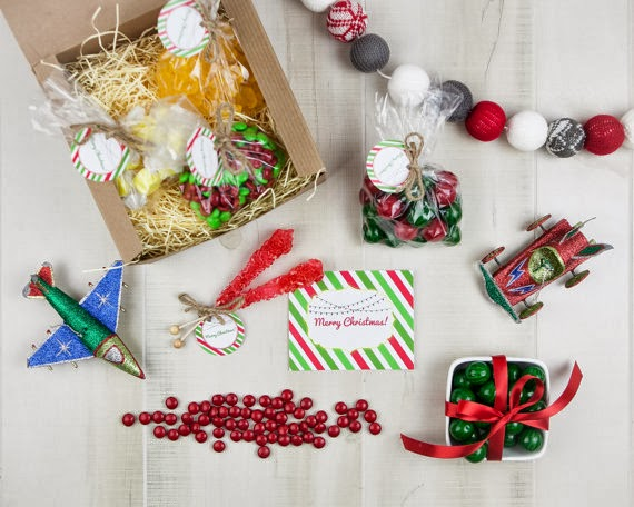 Chic Sweets Christmas candy gift box
